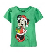 "OldNavy Футболка ""Minnie Mouse Santa"""