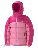 Marmot Куртка на пуху Girl's Guides Down Hoody(Pink Punch/Hot Pink)