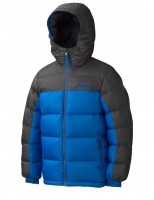 Marmot MARMOT Boy's Guides Down Hoody peak blue/slate grey куртка на мальчика