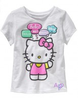 OldNavy Футболка, Hello Kitty