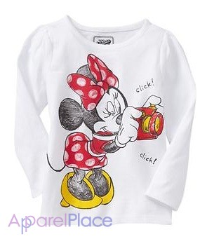 "упить 1 - OldNavy 'утболка ""Minnie Mouse photographer"""