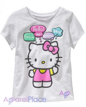 Купить 1 - OldNavy Футболка, Hello Kitty